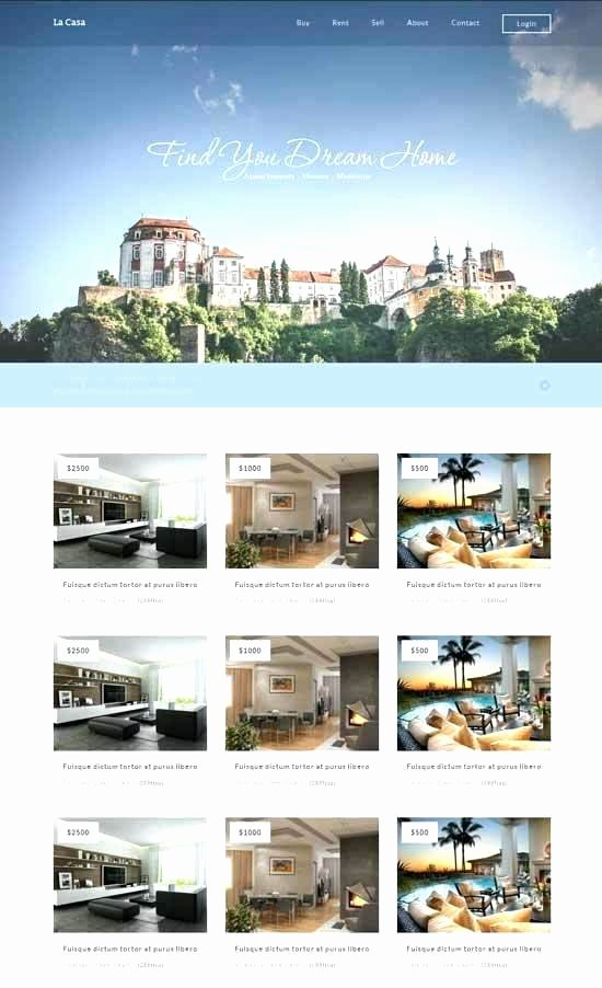 Bootstrap Real Estate Template Fresh Bootstrap 4 Real Estate Template Free Templates – Wapuymfo