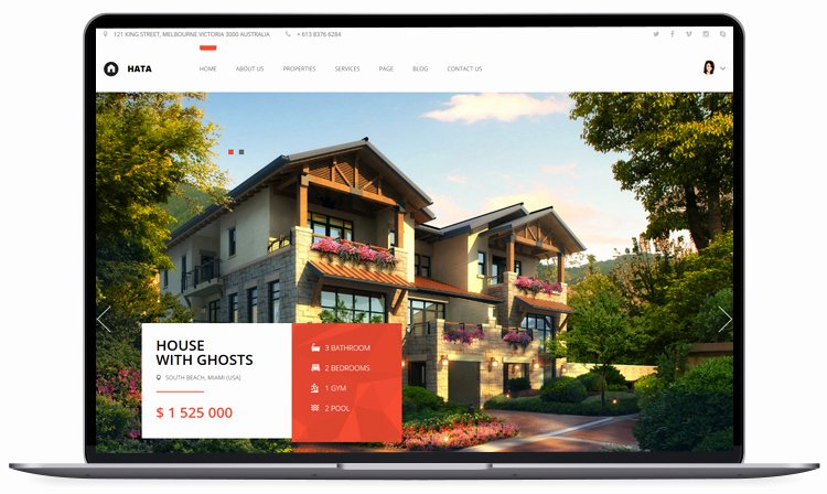 Bootstrap Real Estate Template Lovely 100 Free Bootstrap HTML5 Templates for Responsive Website