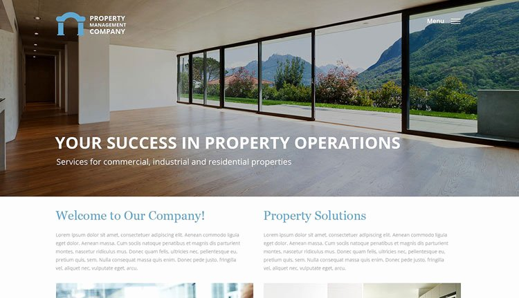Bootstrap Real Estate Template Luxury 25 Bootstrap Real Estate Templates Designerslib