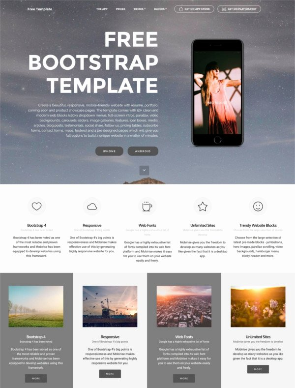 Bootstrap Resume Template Free Best Of 83 Free Bootstrap themes & Templates