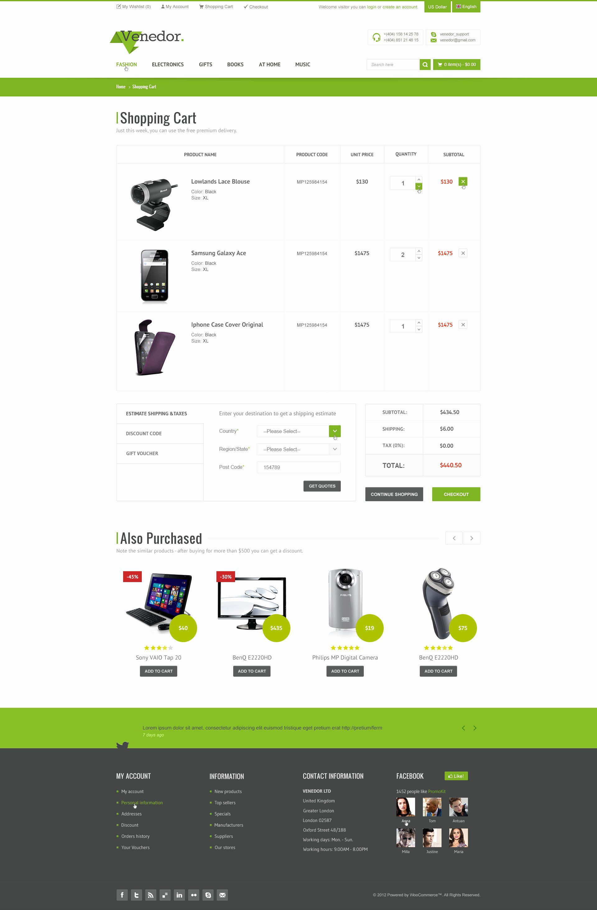 Bootstrap Shopping Cart Template Inspirational Venedor Bootstrap Responsive E Merce Psd by