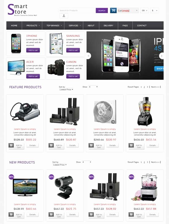 Bootstrap Shopping Cart Template Lovely Bootstrap 3 Shopping Cart Template Free Templates Station