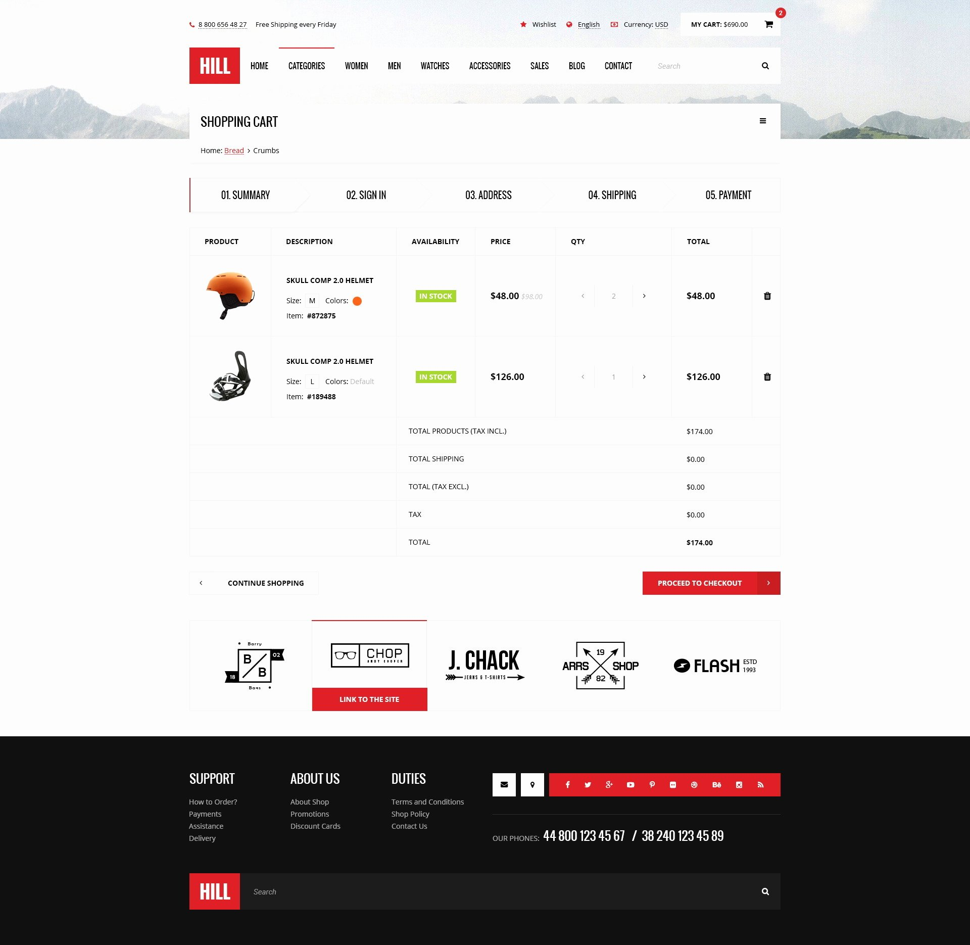 Bootstrap Shopping Cart Template Lovely Hill Premium Bootstrap E Merce Psd Template by