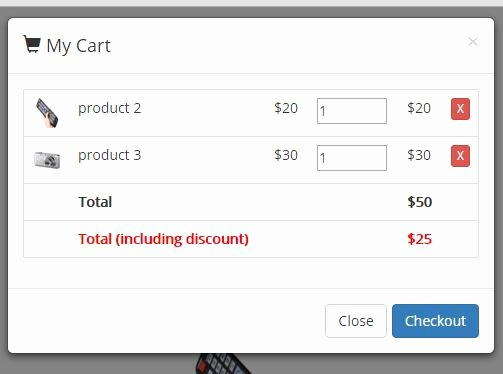 Bootstrap Shopping Cart Template Luxury Simple Shopping Cart Plugin with Jquery and Bootstrap