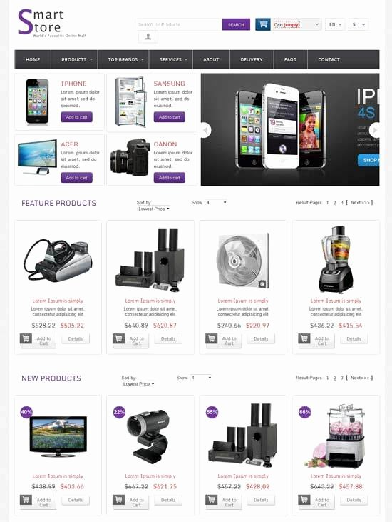 Bootstrap Shopping Cart Template Unique Bootstrap 3 Shopping Cart Template Free Download