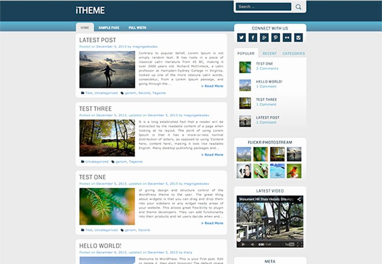 Bootstrap social Network Template Unique Job Career Fairs Bootstrap social Network Template
