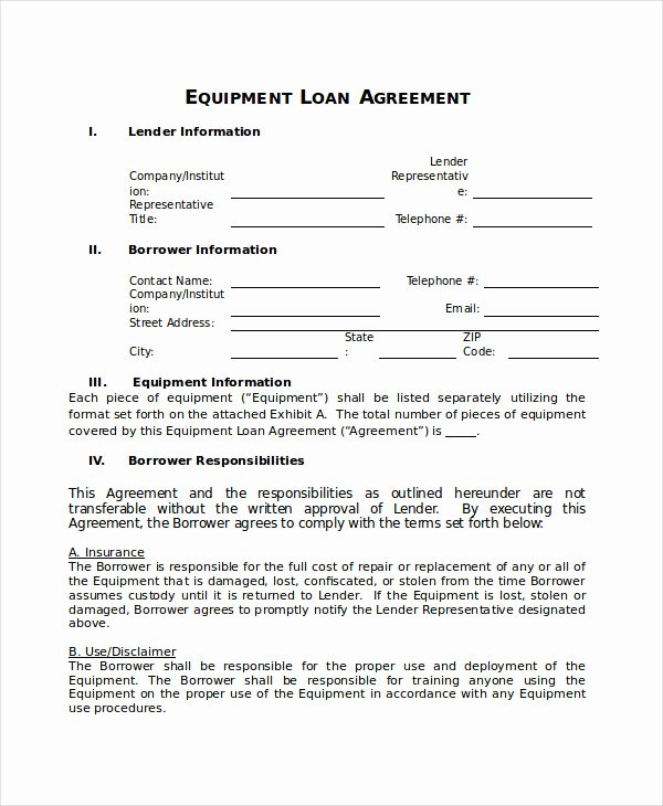 Borrowed Vehicle Agreement Template Unique 24 Of Loaner Agreement Template