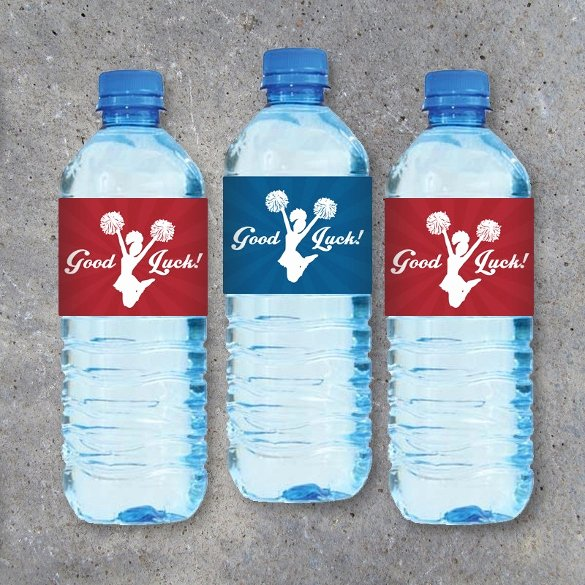 Bottle Label Template Free Awesome 24 Sample Water Bottle Label Templates to Download