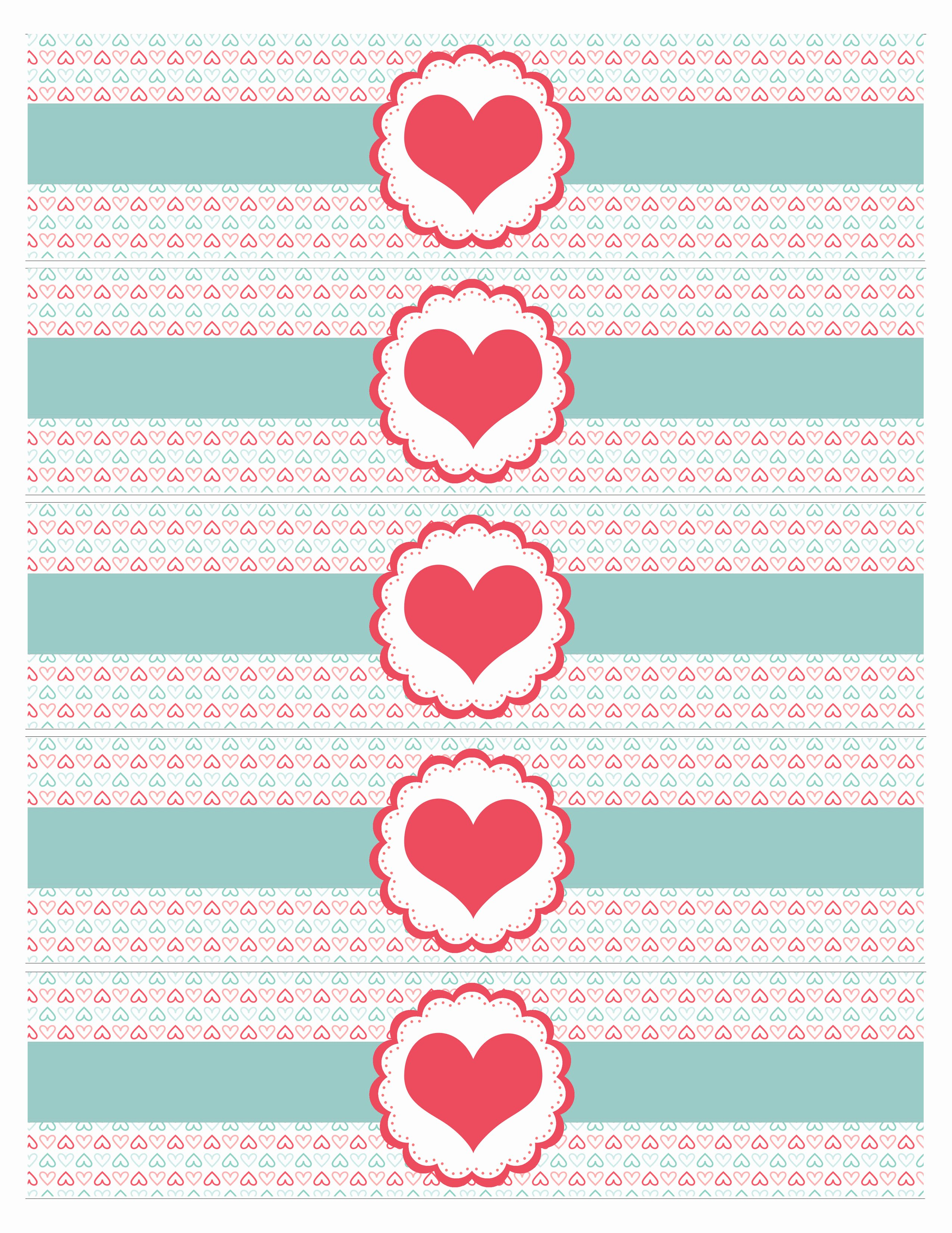 Bottle Label Template Free Awesome Valentine S Day Party Free Printables How to Nest for Less™