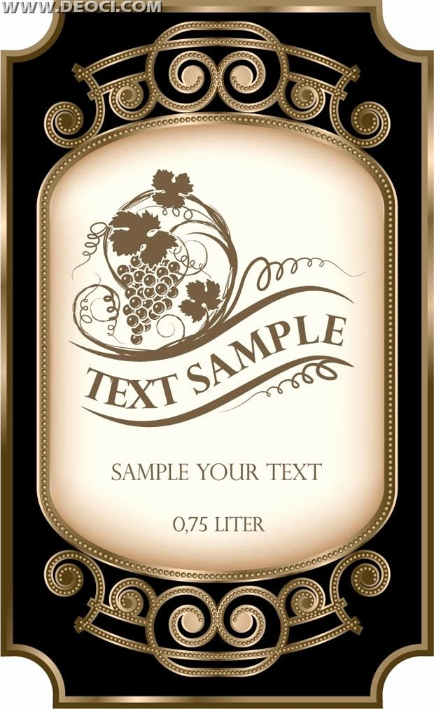 Bottle Label Template Free Awesome Wine Bottle Label Template Free Google Search