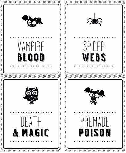 Bottle Label Template Free Luxury Halloween soda Bottle Labels 2 Liter Label Templates