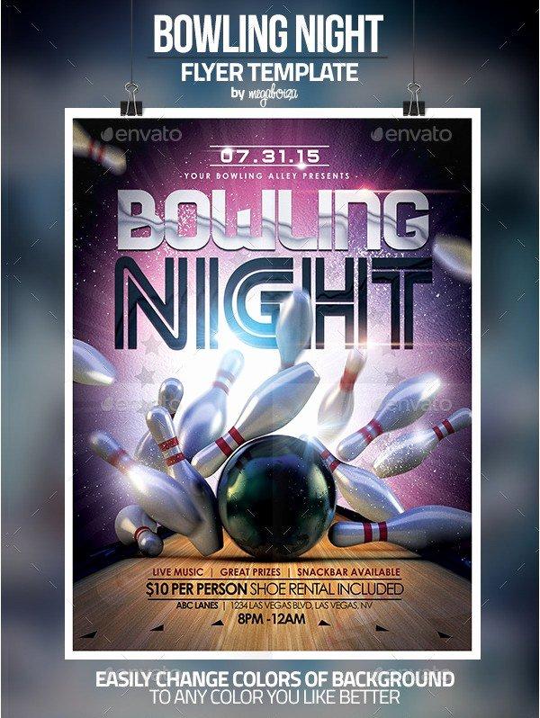 Bowling Flyer Template Free Fresh Doc Bowling Flyer Template Free Flyers Ps and Graphicriver