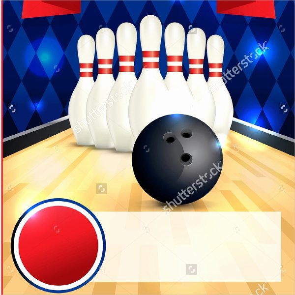 Bowling Flyer Template Free Unique 16 Bowling Flyer Templates Free Psd Ai format Download