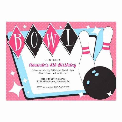 Bowling Invitation Template Free Beautiful Free Bowling Birthday Party Invitations Template