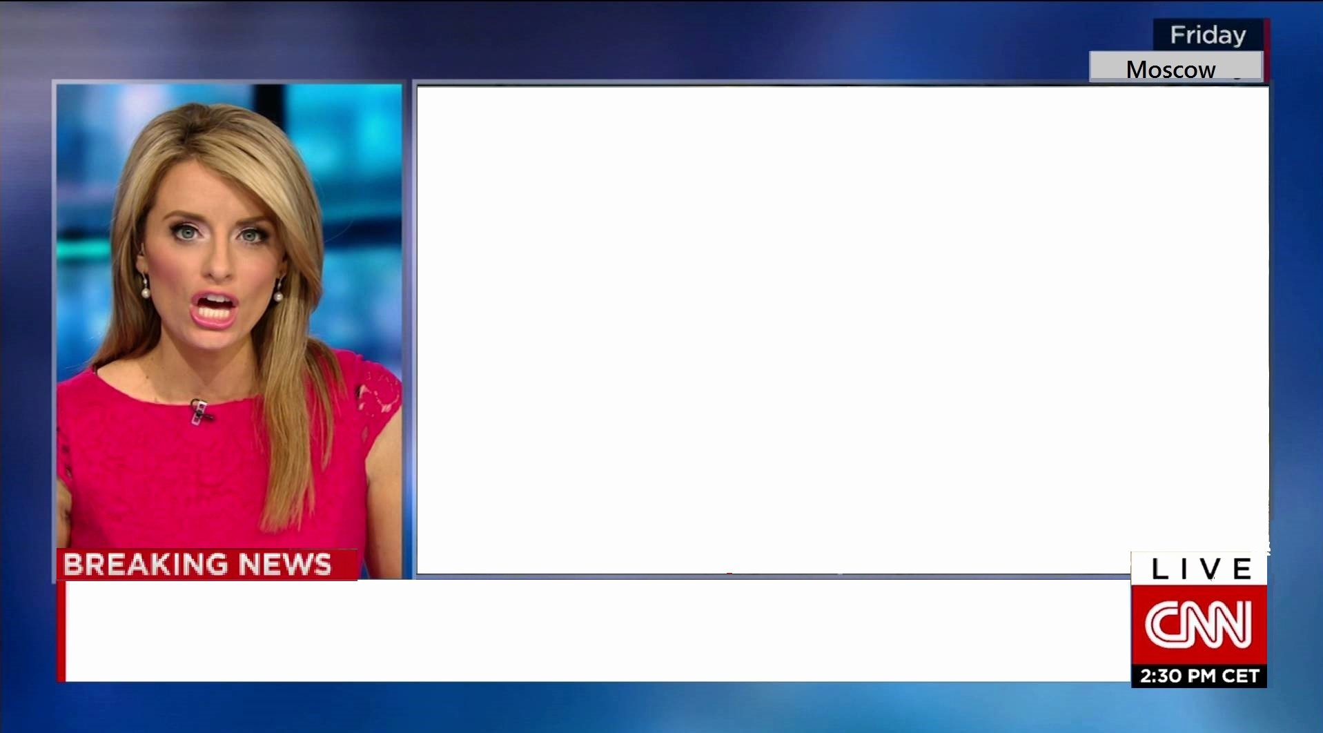 Breaking News Template Free Beautiful Cnn Russia Ties Template Memetemplates Ficial