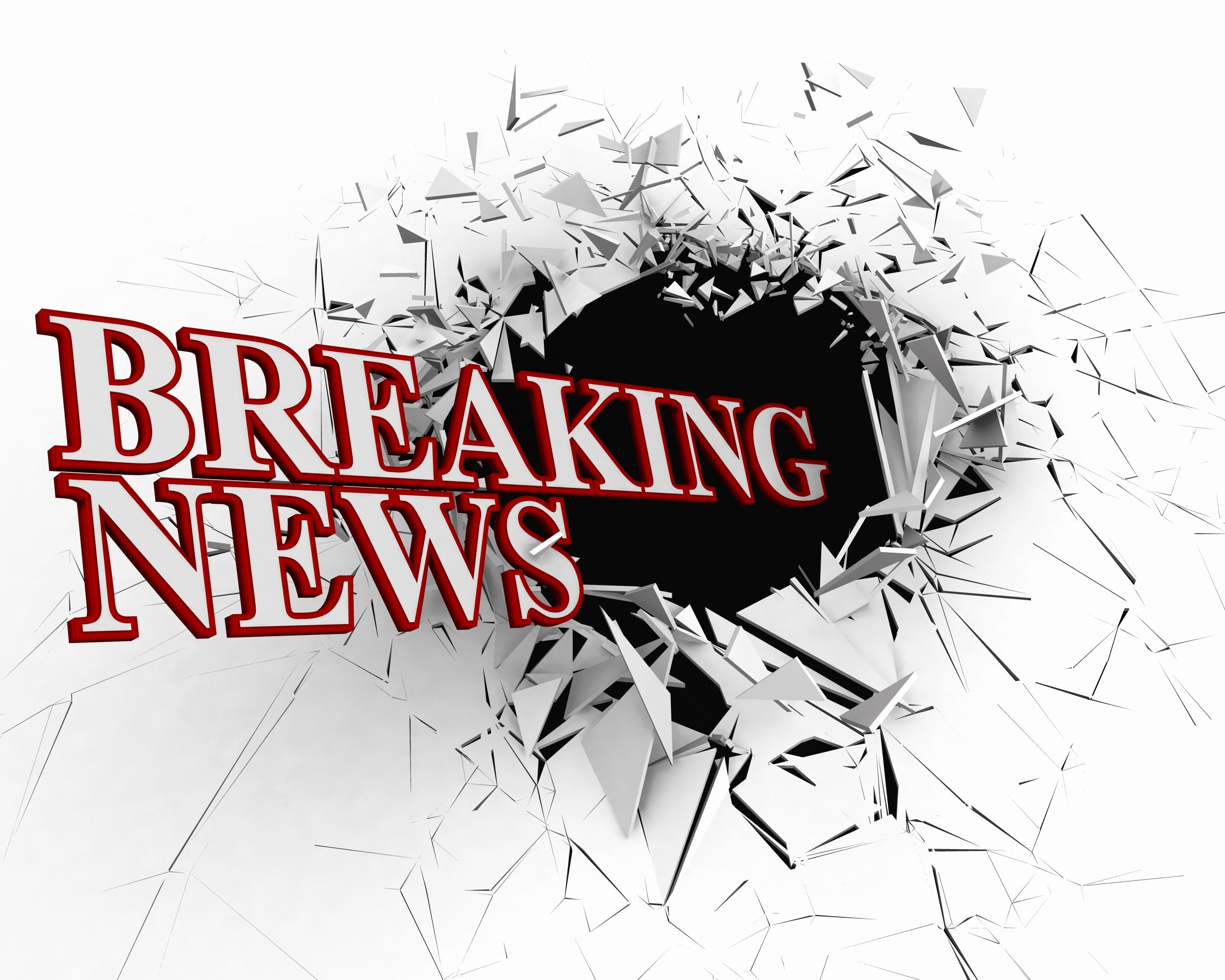 Breaking News Template Free Fresh Breaking News Text with 3d Crack Background Stock