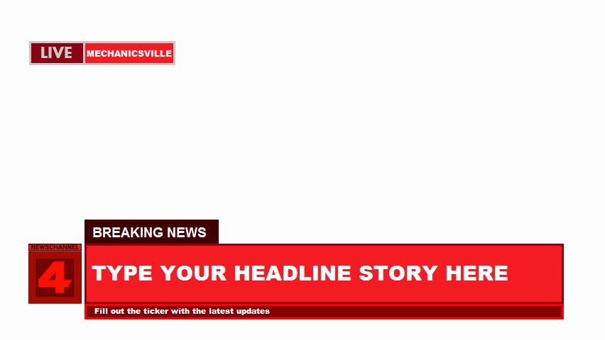 Breaking News Template Free Inspirational Newschannel Four Breaking News Template by Terryrule17