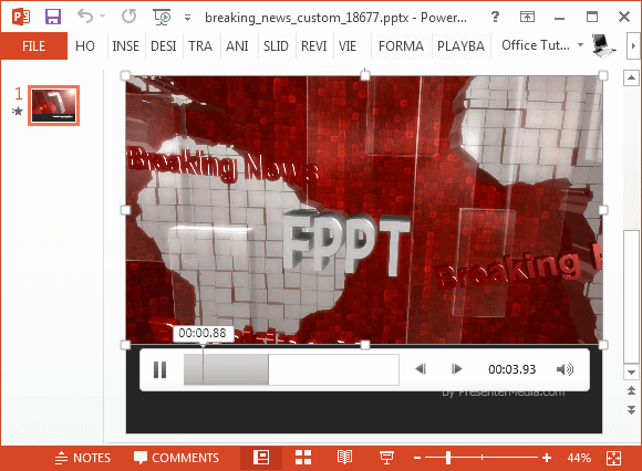 Breaking News Template Free New Breaking News Video Background for Powerpoint