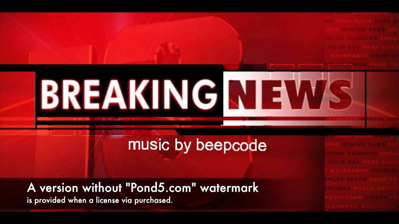 Breaking News Template Free New Mercial Background Music Breaking News Royalty Free