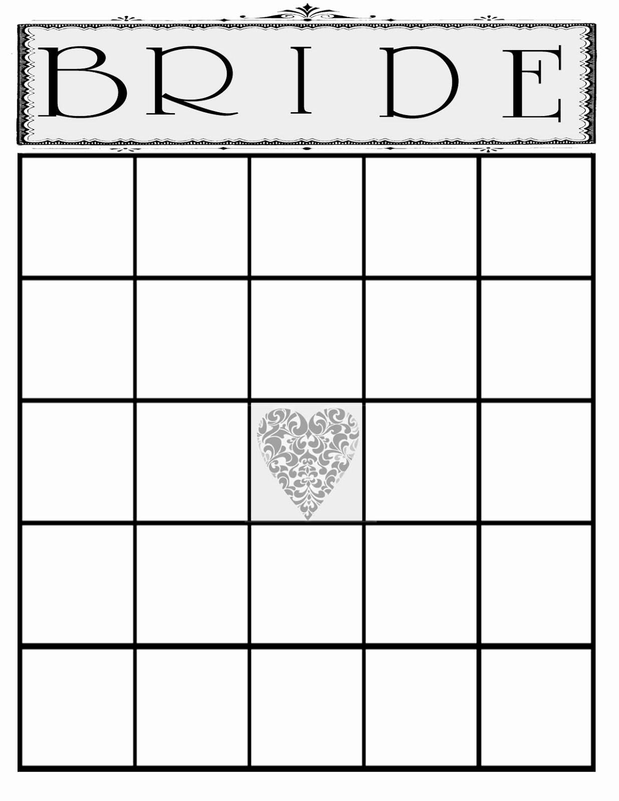 Bridal Shower Bingo Template Fresh the Creative Pointe A Beautiful Bridal Shower and A