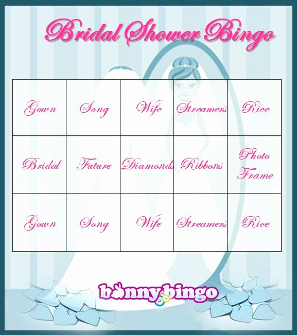 Bridal Shower Bingo Template Luxury Free Bingo Get 30 Free to Play Line Bingo Games at
