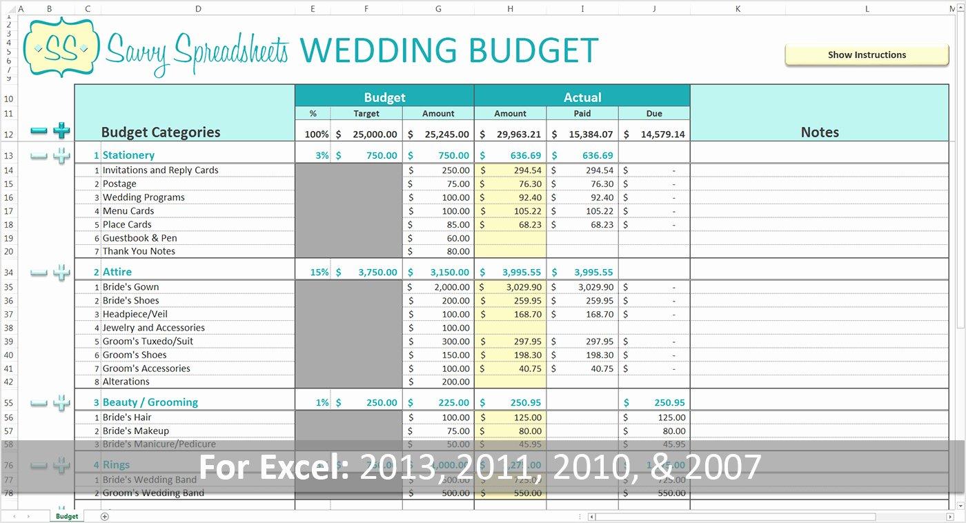 Bridal Shower Budget Template Luxury Bridal Bud Spreadsheet Google Spreadshee Bridal Musings