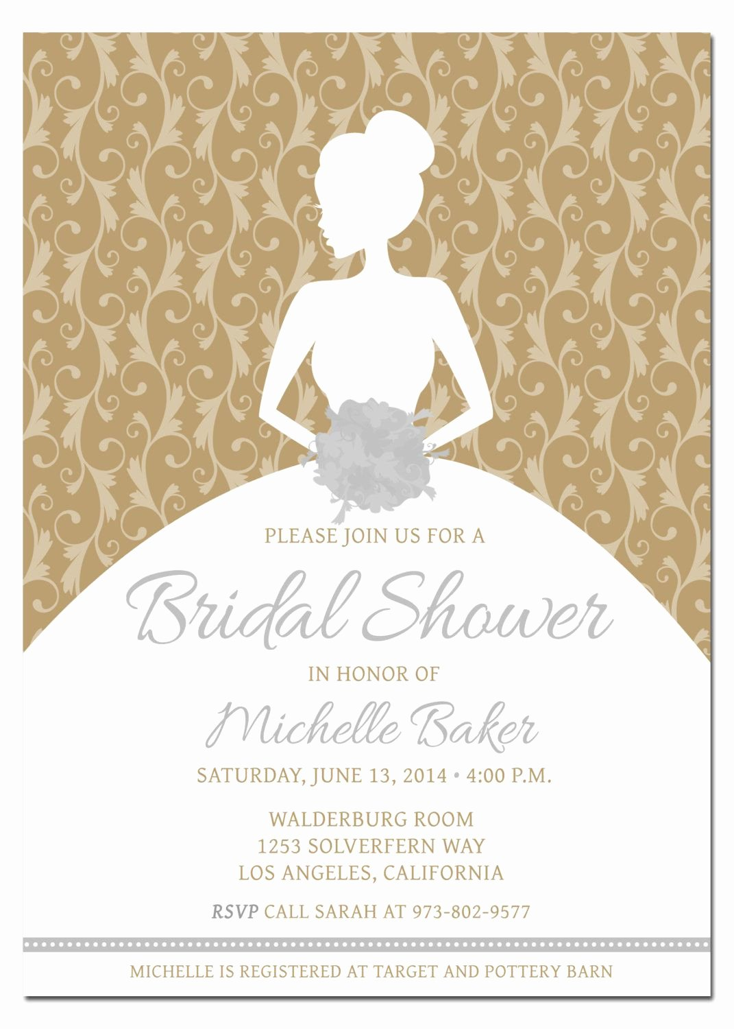 Bridal Shower Card Template Lovely Diy Wedding Shower Invitations Diy Bridal Shower