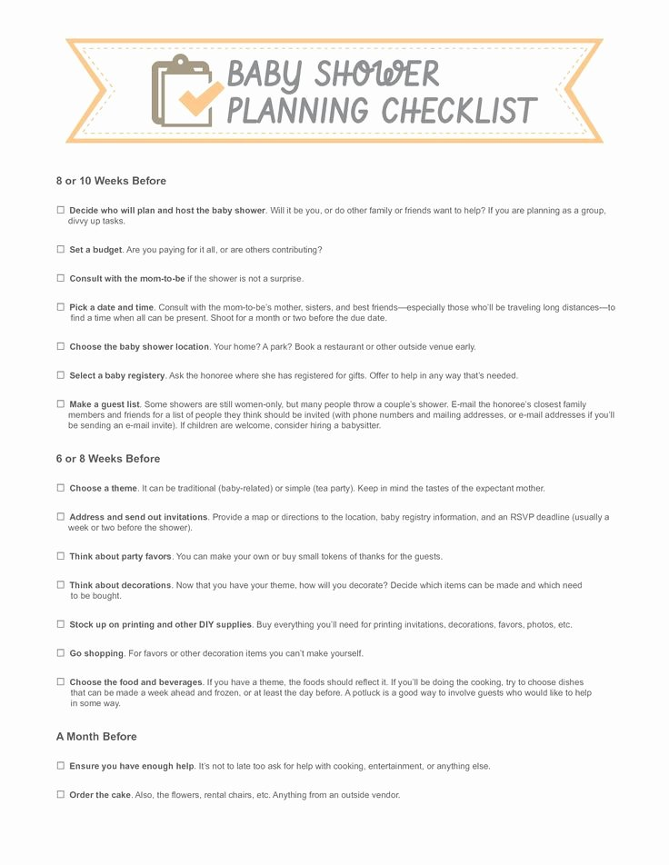 Bridal Shower Checklist Template Elegant Template for Bowtie for A Baby Shower