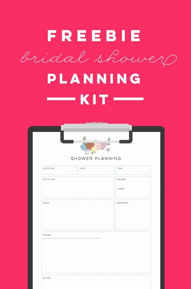 Bridal Shower Checklist Template Fresh Bridal Shower Planning Checklist Pdf Tar Registry Excel