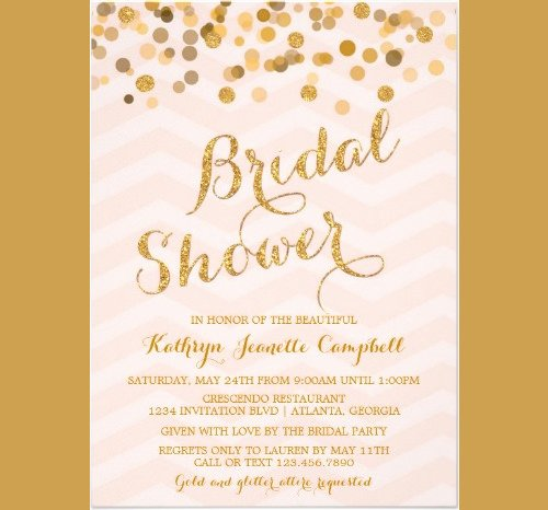 Bridal Shower Invitation Template Awesome 33 Psd Bridal Shower Invitations Templates