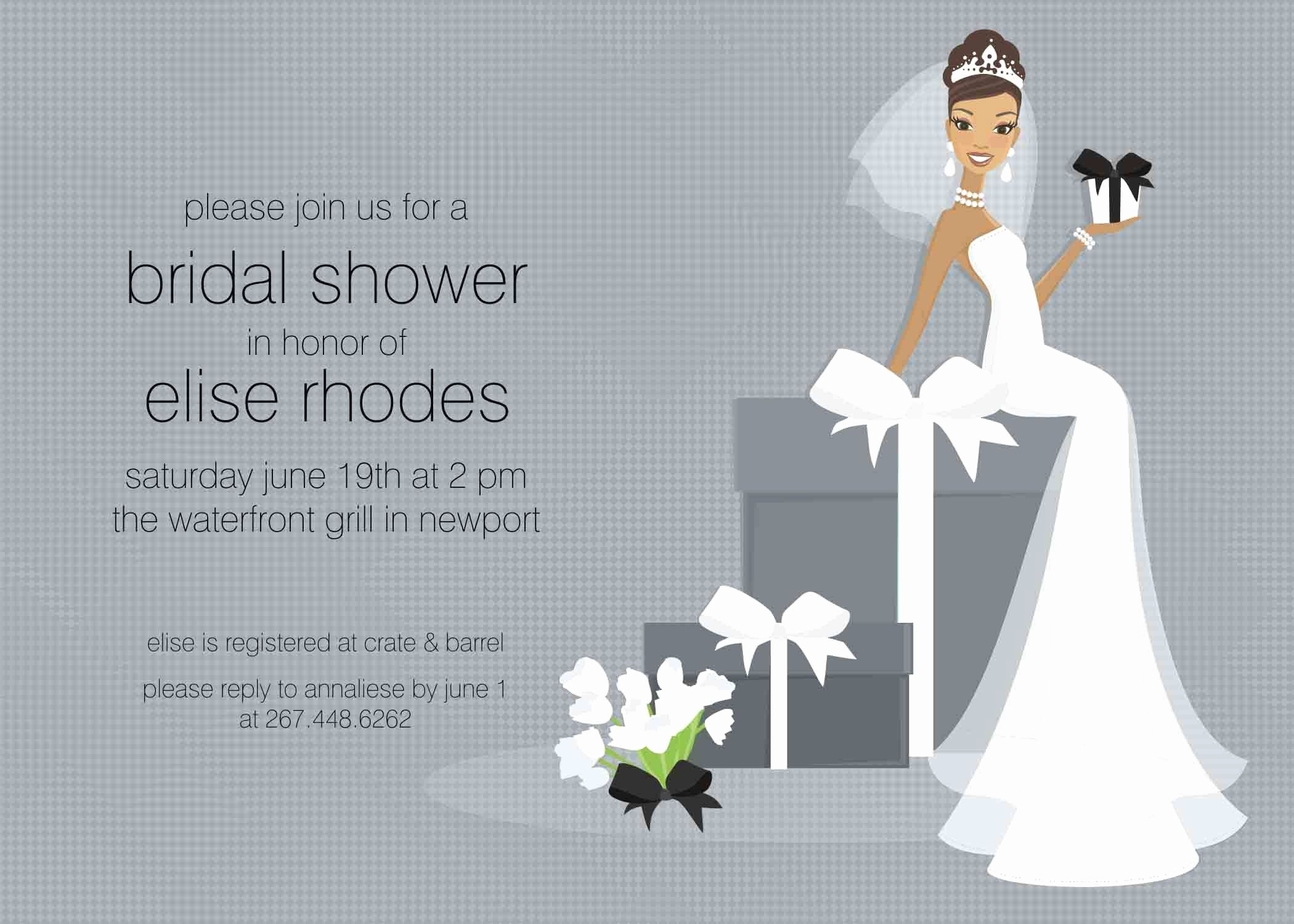 Bridal Shower Invitation Template Awesome Free Bridal Shower Invitation Templates