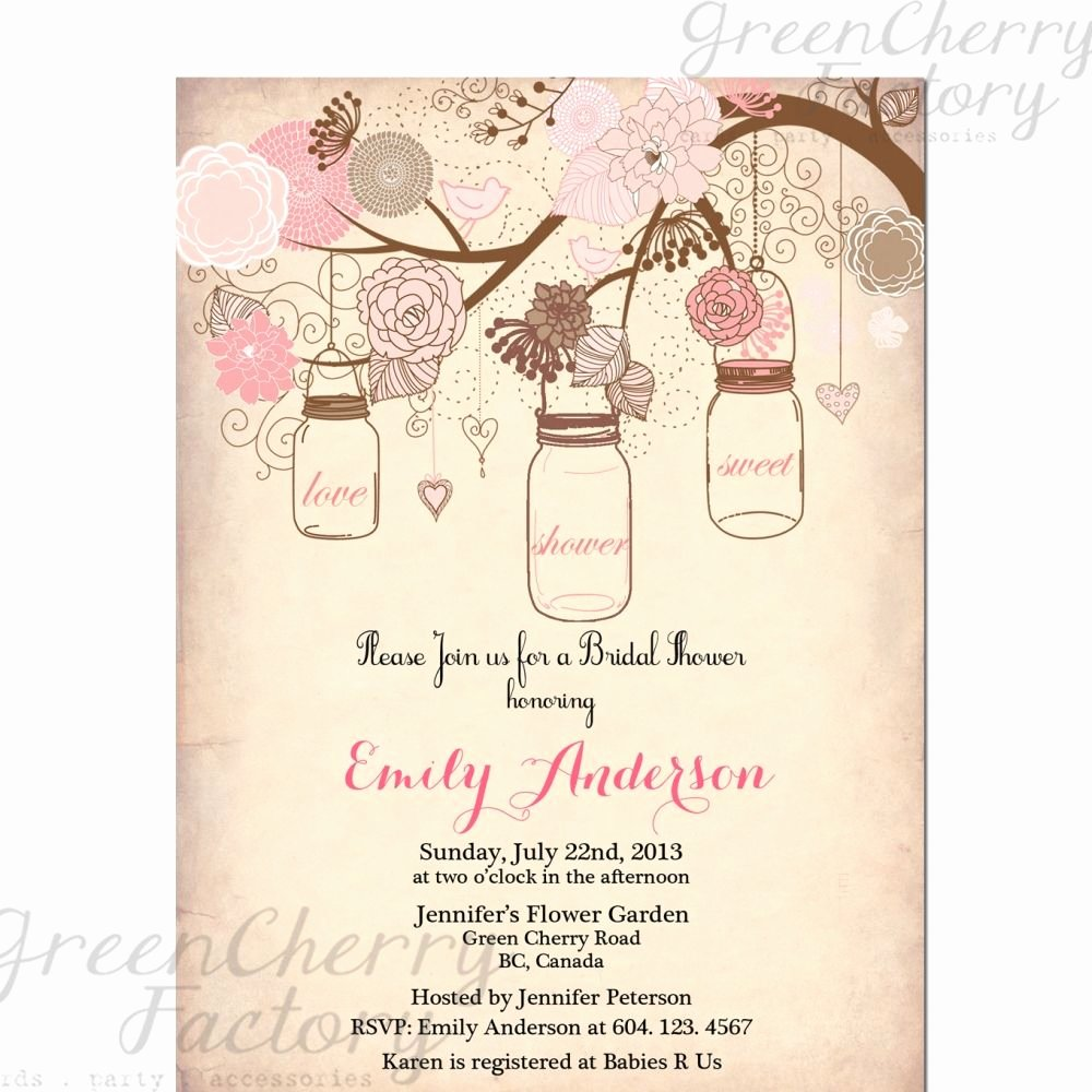 Bridal Shower Invitation Template Best Of Vintage Bridal Shower Invitation Templates Free
