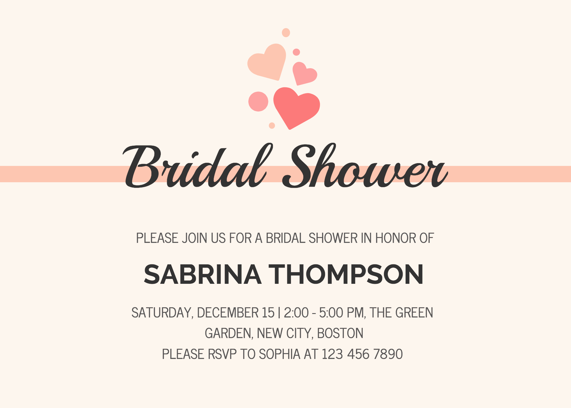 Bridal Shower Invitation Template Inspirational 19 Diy Bridal Shower and Wedding Invitation Templates