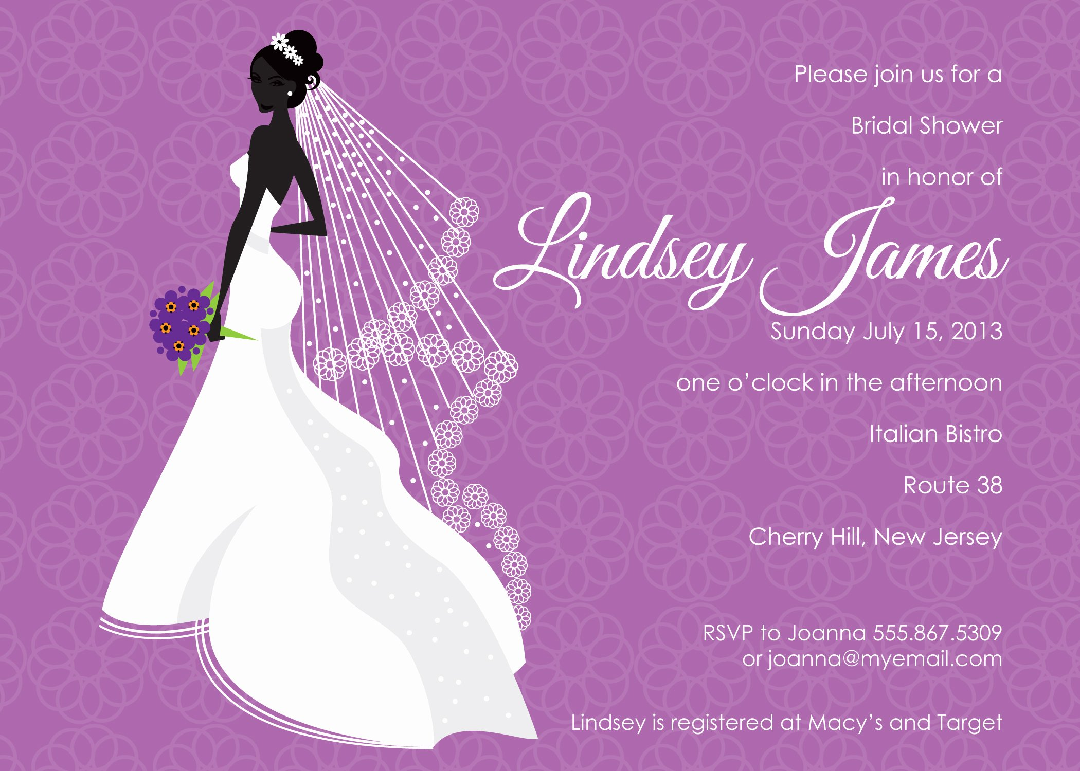 Bridal Shower Invitation Template Luxury Best Template Collection