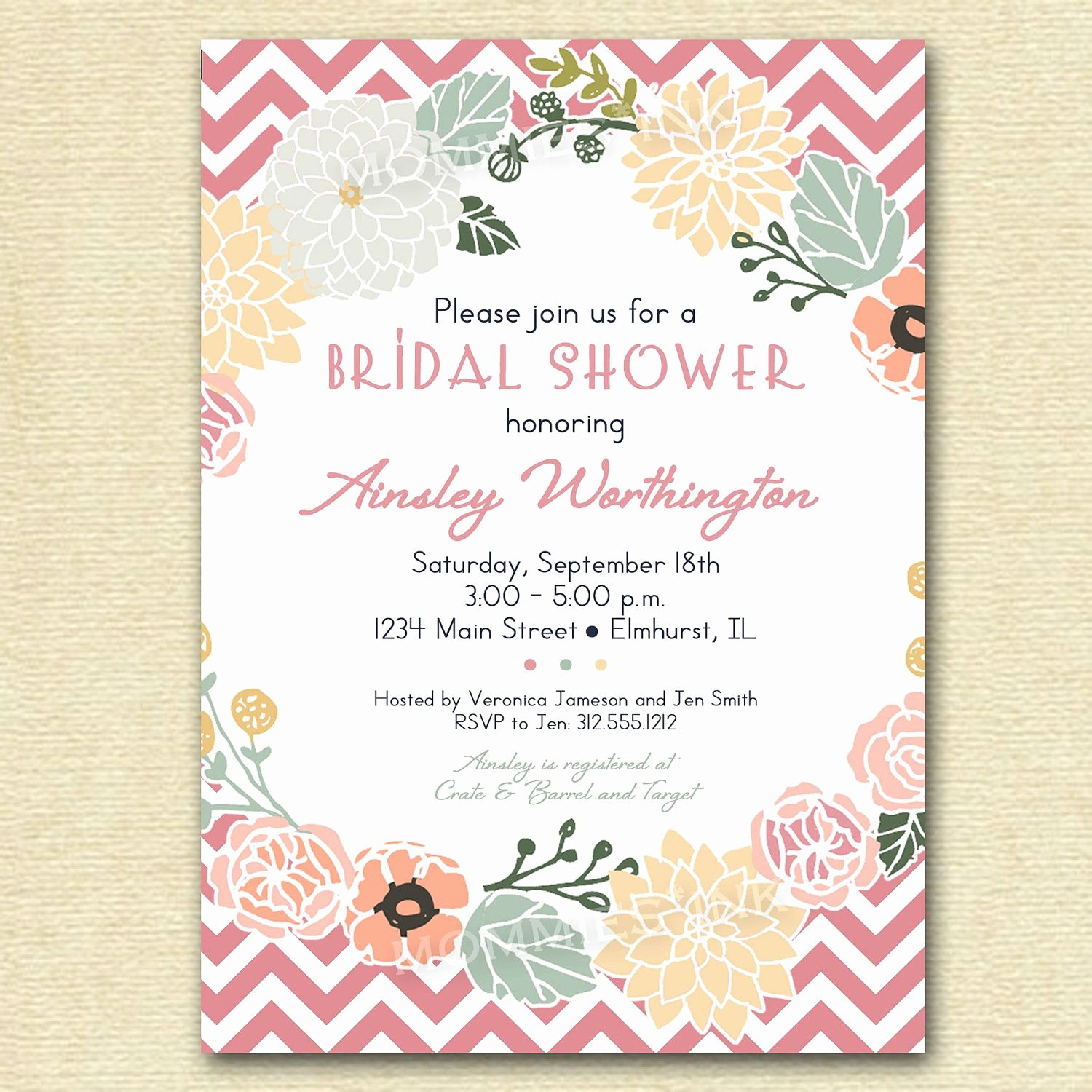 Bridal Shower Invitations Template Awesome Vintage Wedding Shower Invitations Vintage Bridal Shower