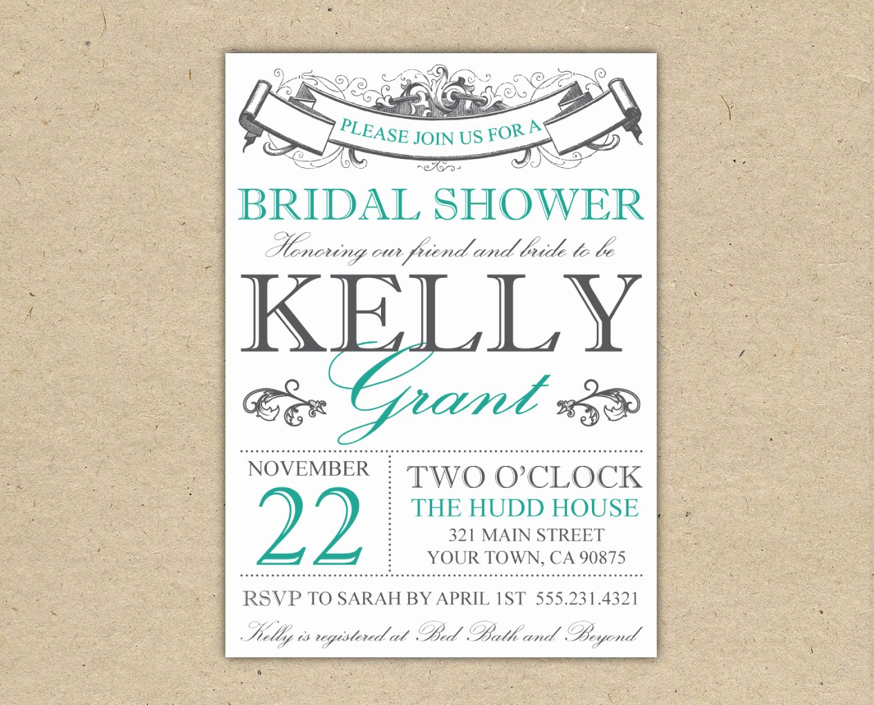 Bridal Shower Invitations Template Best Of Bridal Shower Invitation Templates