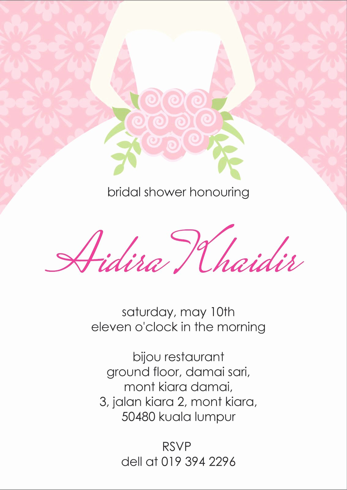 Bridal Shower Invitations Template Best Of Bridal Shower Invitation Verbiage Bridal Shower
