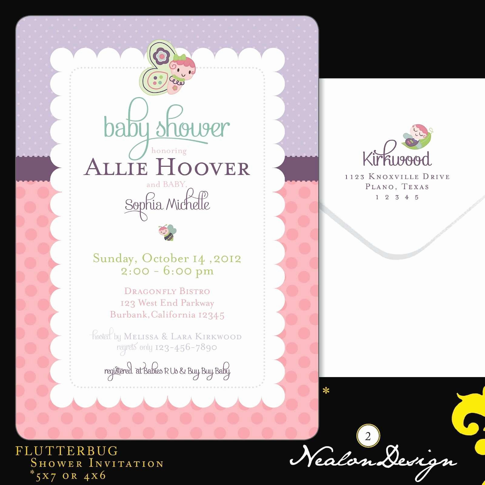 Bridal Shower Invitations Template Lovely Beautiful Bridal Shower Invitation Templates for Microsoft