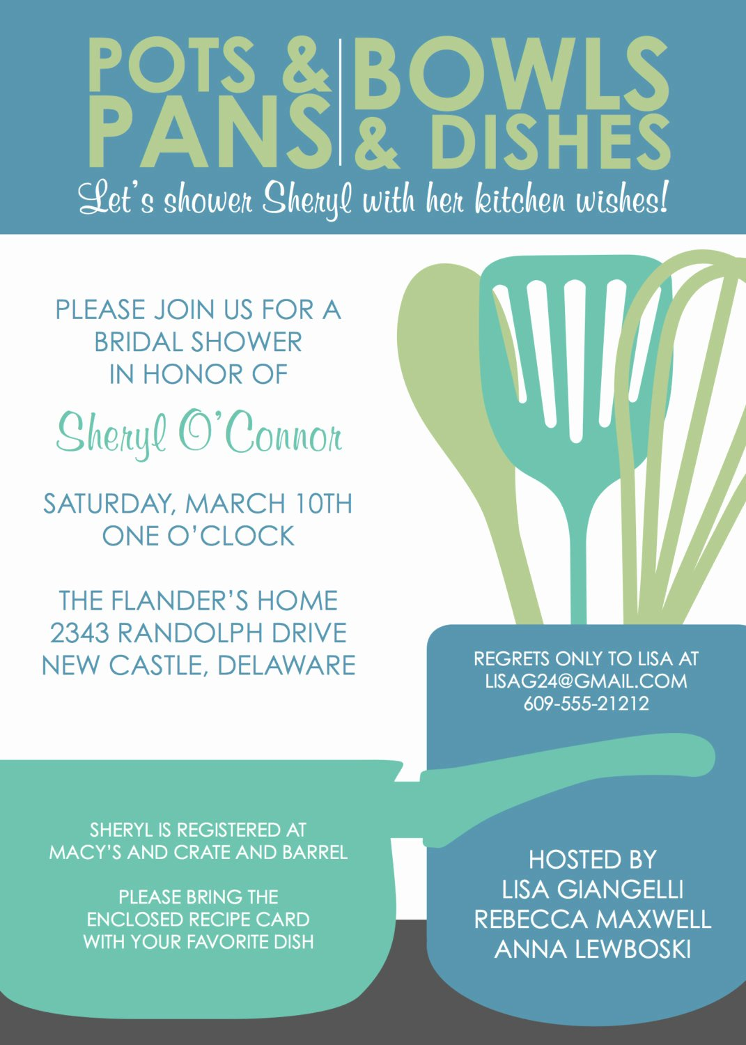 Bridal Shower Invitations Template Luxury Bridal Shower Invitation Templates Kitchen Bridal Shower