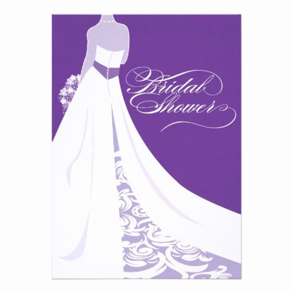 Bridal Shower Invitations Template New Bridal Shower Invitations Purple Bridal Shower