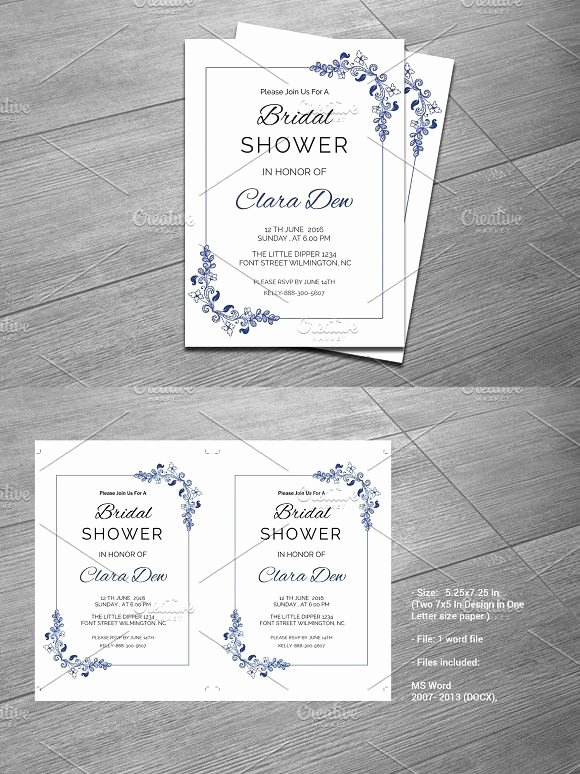 Bridal Shower Menu Template New 1000 Ideas About Invitation Templates On Pinterest