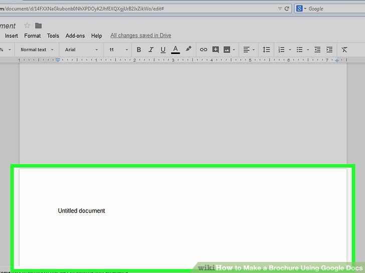 Brochure Google Docs Template Best Of How to Make A Brochure Using Google Docs with