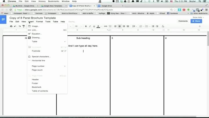 Brochure Google Docs Template Elegant Google Docs Brochure Template Beepmunk