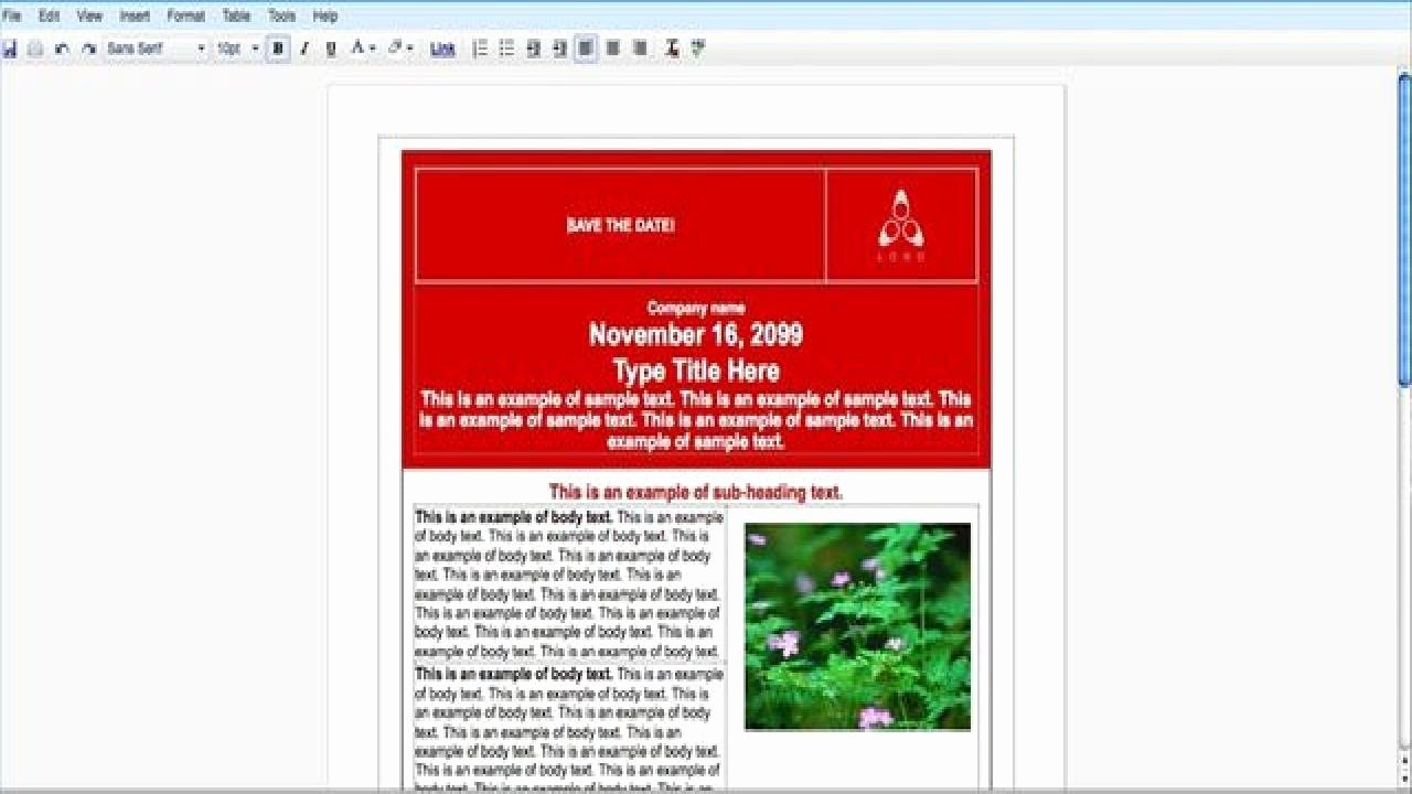 Brochure Template Google Doc Lovely How to Create An event Flyer with Google Docs