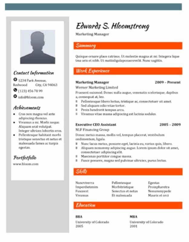 Brochure Template Google Doc Luxury 29 Google Docs Resume Template to Ace Your Next Interview