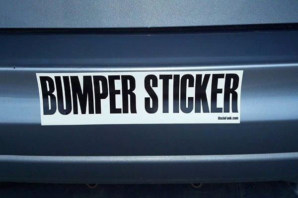 Bumper Sticker Template Free Best Of How to Design Your Own Bumper Sticker
