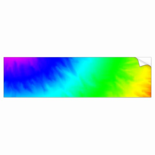 Bumper Sticker Template Free Elegant Create Your Own Custom Tie Dye Template Bumper Sticker