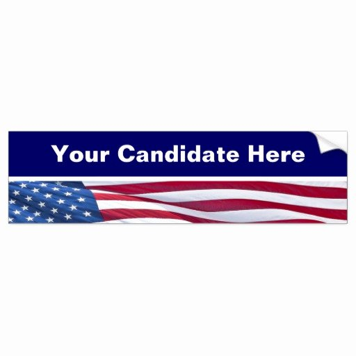 Bumper Sticker Template Free Fresh Election Campaign Bumper Sticker Template Car Bumper