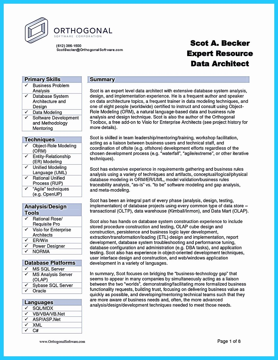 Business Analyst Resume Template Lovely Incredible formula to Make Interesting Business