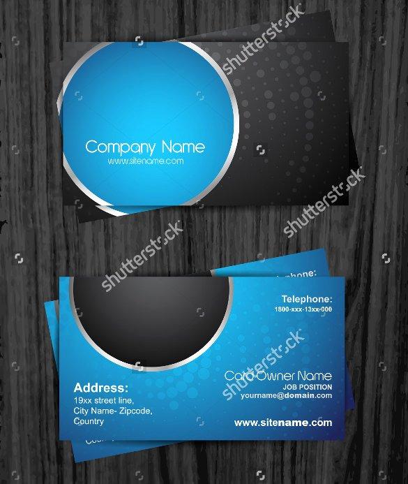 cheap business card template